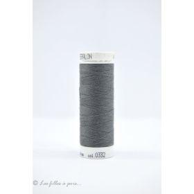 Fil à coudre Mettler ® Seralon 200m - coloris gris - 0332 METTLER ® - 1