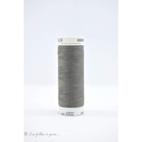 Fil à coudre Mettler ® Seralon 200m - coloris gris - 0322 METTLER ® - 1