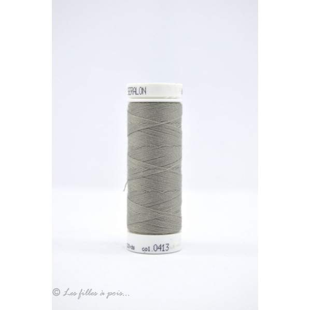 Fil à coudre Mettler ® Seralon 200m - coloris gris - 0413 METTLER ® - 1