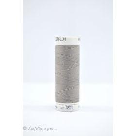 Fil à coudre Mettler ® Seralon 200m - coloris gris - 0321 METTLER ® - 1