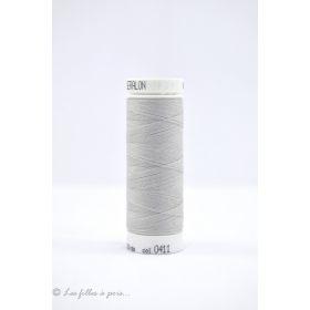 Fil à coudre Mettler ® Seralon 200m - coloris gris - 0411 METTLER ® - 1