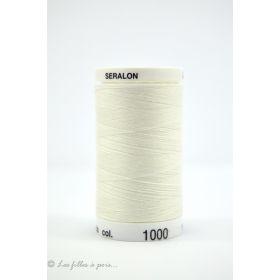 2000 - Fil à coudre Mettler Seralon 500m - coloris blanc