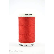 0501- Fil à coudre Mettler Seralon 500m - coloris rouge