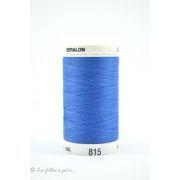 0815 - Fil à coudre Mettler Seralon 500m - coloris bleu