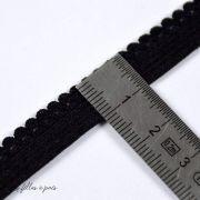 Elastique lingerie - Noir - 10mm