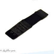 Rallonge de soutien-gorge élastique 2 crochets - 1