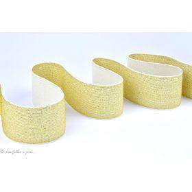 Elastique plat lurex - 50mm