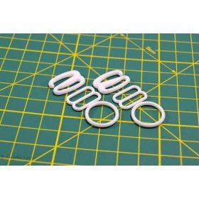 Accessoires de soutien gorge - Lot de 6 pièces - 15mm - 1