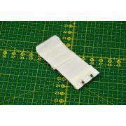 Rallonge soutien-gorge élastique 2 crochets - 32mm / 95mm