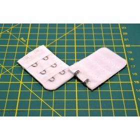 Rallonge soutien-gorge 2 crochets - 32mm