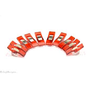 Lot de 10 pinces plastiques type Prodige - 33x12mm - 3
