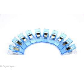 Lot de 10 pinces plastiques type Prodige - 33x12mm