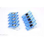 Lot de 10 pinces plastiques type Prodige - 33x12mm - 12