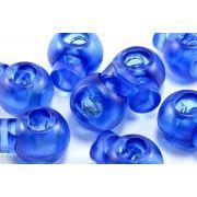 Arrêts cordons boule plastique transparent - Lot de 2 - 7