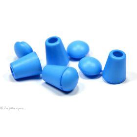 Arrêts cordons à refermer plastique - Lot de 2 - 1