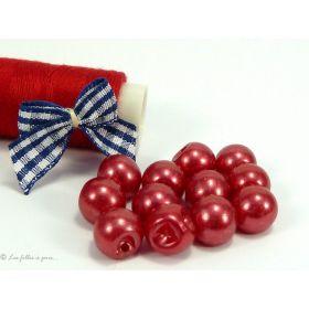 Bouton boule - Lot de 10 -10mm
