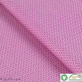 Tissu jacquard Big Knit - Gris anthracite - Bio - ALB Stoffe ® - Hamburger Liebe ®