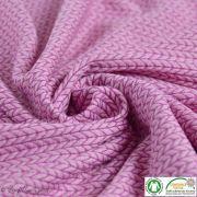 Tissu jacquard Big Knit - Bio - ALB Stoffe ® - Hamburger Liebe ® ALBStoff feat Hamburger liebe ® - Tissus BIO et Oekotex - 2