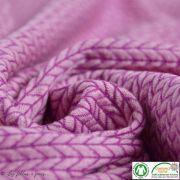 Tissu jacquard Big Knit - Bio - ALB Stoffe ® - Hamburger Liebe ® ALBStoff feat Hamburger liebe ® - Tissus BIO et Oekotex - 3
