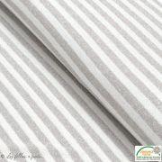 Tissu jersey viscose maille lurex motif rayure