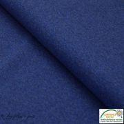 Tissu sweat coton tissé teint - Oeko-Tex ®