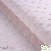 Tissu jersey knitwear Towel motif pois relief - Oeko-Tex ® - Stenzo Textiles ®