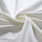 Tissu jersey punto di milano coton uni Autres marques - 25
