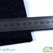 Bord côte jersey tubulaire paillette - 25cmx70cm - Oeko-Tex ® Autres marques - 21