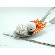 Perle crochetée - Crochetée à la main