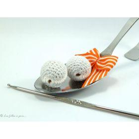 Perle crochetée - Crochetée à la main - 1