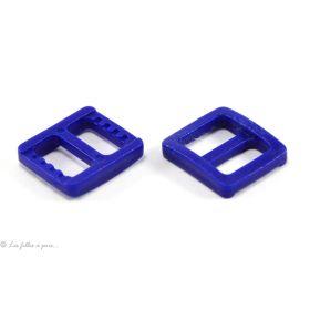 Boucles coulissantes de réglage en plastique pour sangle - 10mm - Lot de 2 - 1