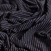 Tissu jersey coton motif rayure lurex - 13