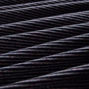 Tissu jersey coton motif rayure lurex - 12