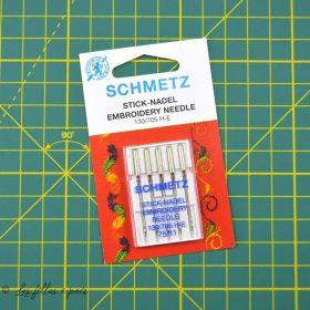 Assortiment aiguilles SCHMETZ® broderie 130/705H-E