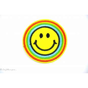 Écusson Smile - Jaune - Thermocollant - 1