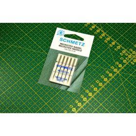 Assortiment Aiguilles SCHMETZ® microtex 130/705H-M