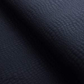 Tissu matelassé jersey motif aspect crocodile