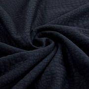Tissu matelassé jersey motif aspect crocodile Autres marques - 4