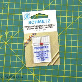 Aiguille universelle double machine à coudre - Schmetz ® SCHMETZ ® - 1