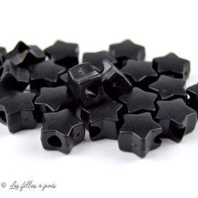 Arrêts cordons plastique étoile - Lot de 10 - 1