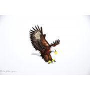 Écusson aigle royal - Noir et marron - Thermocollant