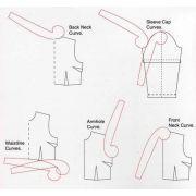 Règle multifonction de couture incurvée et polyvalente - 2