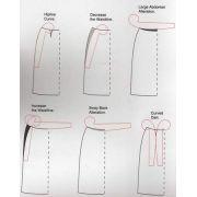 Règle multifonction de couture incurvée et polyvalente  - 3