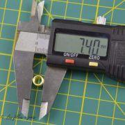 Pince  - diametre extérieur des rivets
