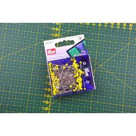 Epingles de couture têtes de verre extra-longues - Jaune - Prym ® Prym ® - 1