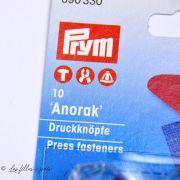 Bouton pression anorak avec outil - 12mm - Argenté - Prym ® Prym ® - 8