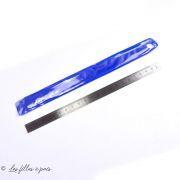 Réglet flexible en métal - 20cm