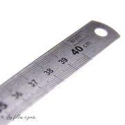 Réglet flexible en métal - 40cm