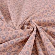 Tissu french terry coton motif léopard - Oeko-Tex ® Autres marques - 5