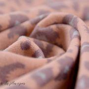 Tissu french terry coton motif léopard - Oeko-Tex ® Autres marques - Tissus et mercerie - 4